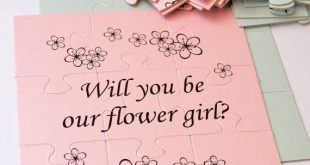 Will You Be Our Flower girl, Will You Be My Flower girl, Flower girl Puzzle, Flower girl card, Flower girl proposal, puzzle, Ask Flower Girl