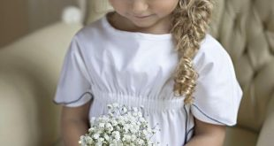 CUTE LITTLE FLOWER GIRL ADDS JOY TO THE BRIDE AND GROOM WEDDING CEREMONY - Page 24 of 44