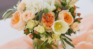 30 strahlende Inspirationen für eine Hochzeit in Apricot