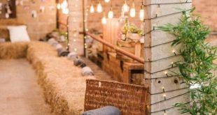 40+ Scheunenhochzeit Ideen - Romantik pur im Spätsommer und Herbst