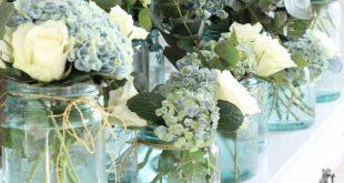 Arrangements treffen: Hortensien