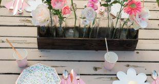 Boho Flower Birthday Party Plan