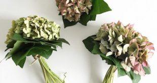 DIY Tischdeko mit Hortensien