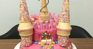 Princess Castle Cake - # Prinzessin # Schranktorte - Birthday Cake Fruit Ideen...